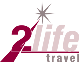 2Life Travel Logo