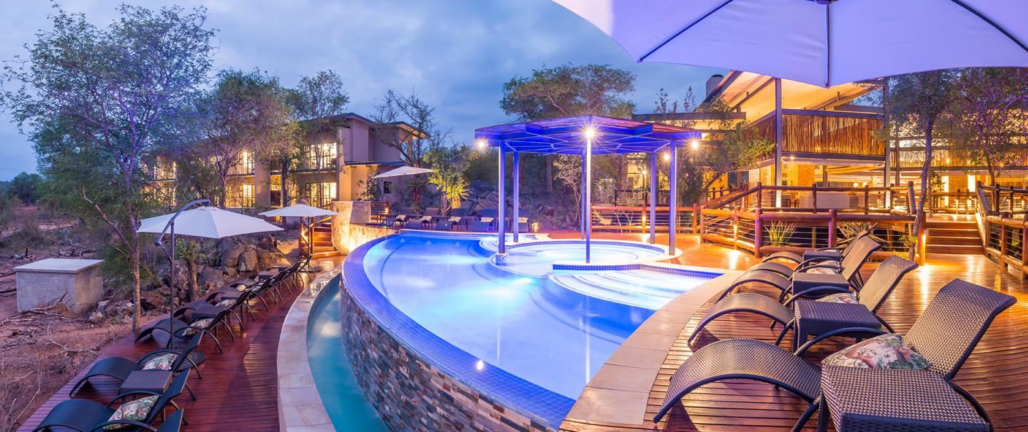 aha Makalali Private Game Lodge, Hoedspruit for 2 nights from R4 340* pps - self drive