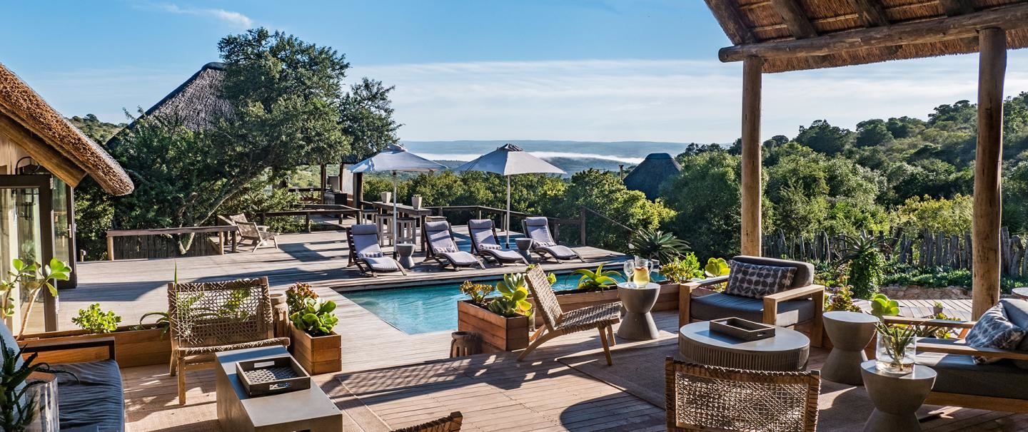 5 Star Bukela Game Lodge, Amakhala Game Reserve for 2 nights from R5 895* pps - self drive