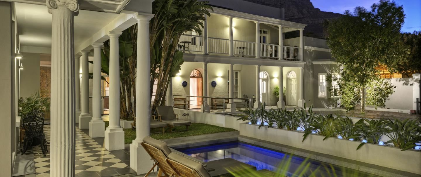 The Three Boutique Hotel, Cape Town for two nights from R1 530 pps - self drive