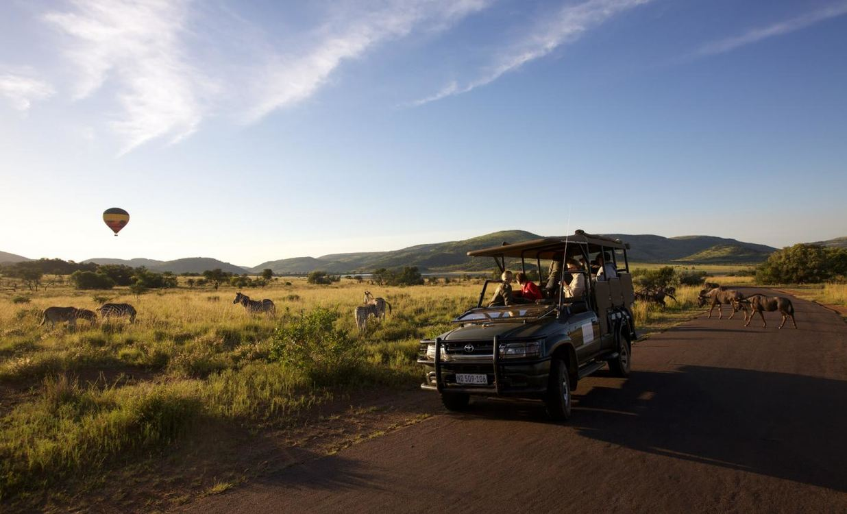 Shepherd's Tree Game Lodge, Pilanesberg for two nights from R4 945 pps - self drive