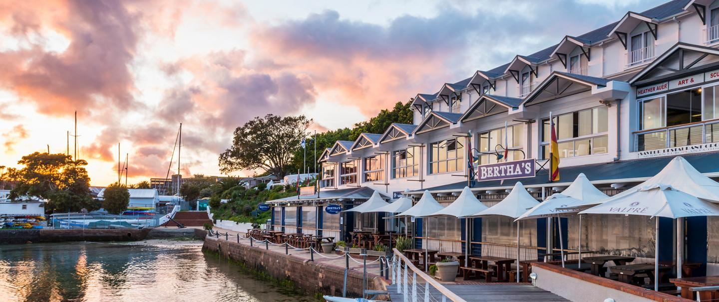 Aha Simon's Town Quayside Hotel or 2 nights from R1 320* pps - self drive