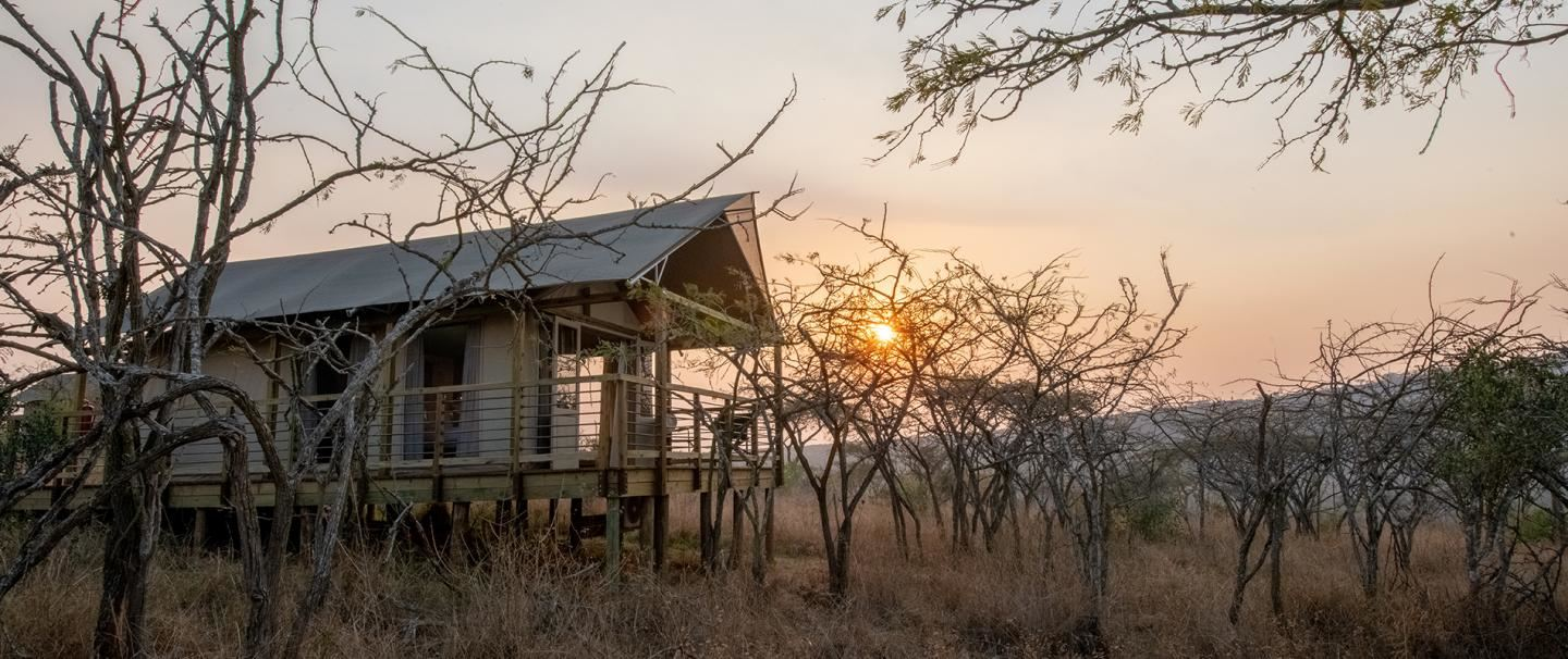 Ndhula Luxury Tented Lodge, White River for 3 nights from R7 430 pps