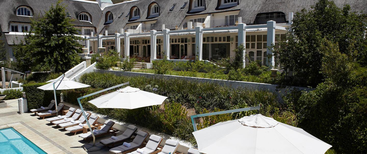 4 Star Le Franschhoek Hotel and Spa for 2 nights from R2 625* pps - self drive