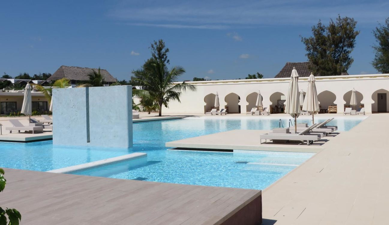 5 Star Gold Zanzibar Beach House and Spa for 7 nights from R20 145* pps