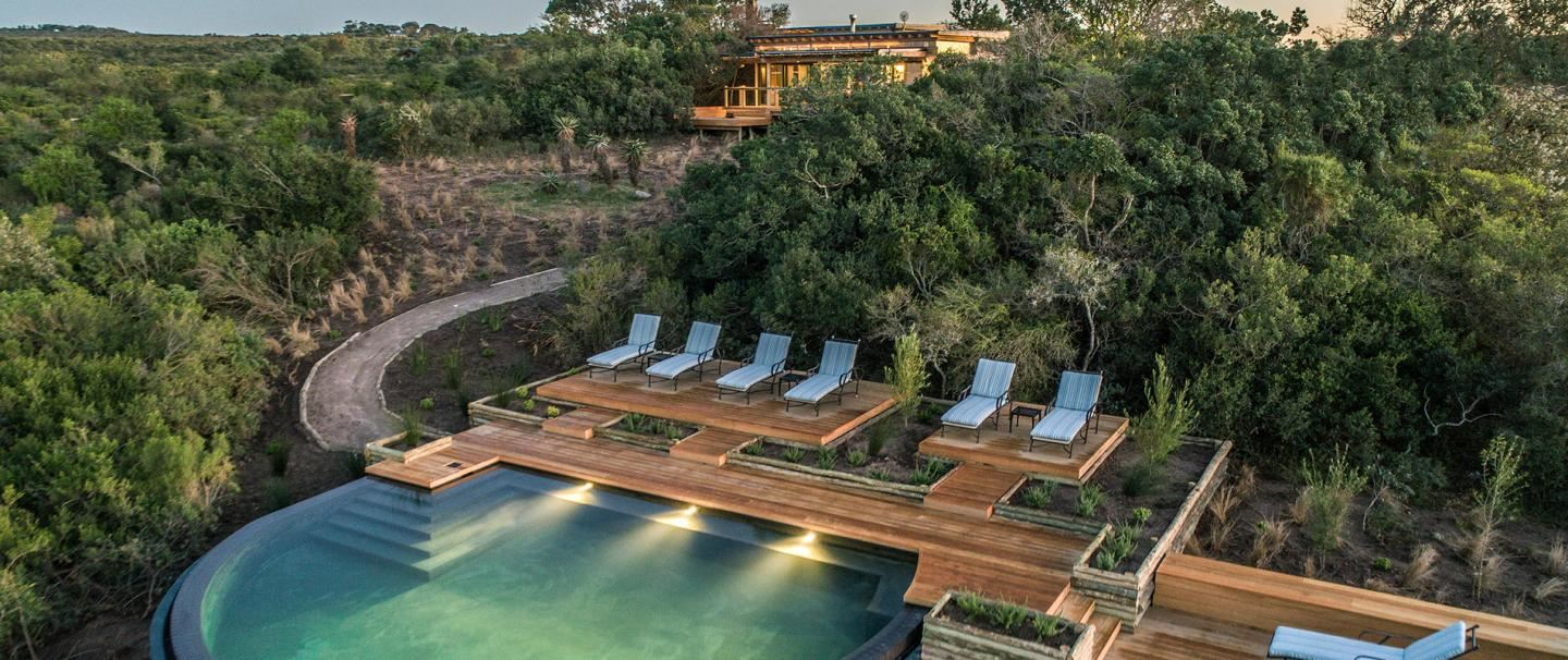 Kariega Private Game Reserve, Ukhozi Lodge for 2 nights from R5 800* pps - self drive