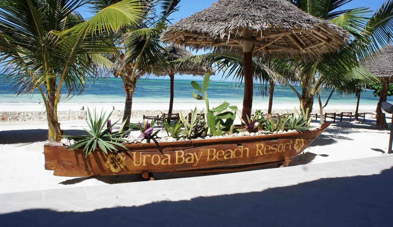 Four star Uroa Bay Beach Resort Zanzibar, 7 nights from R13 550 pps