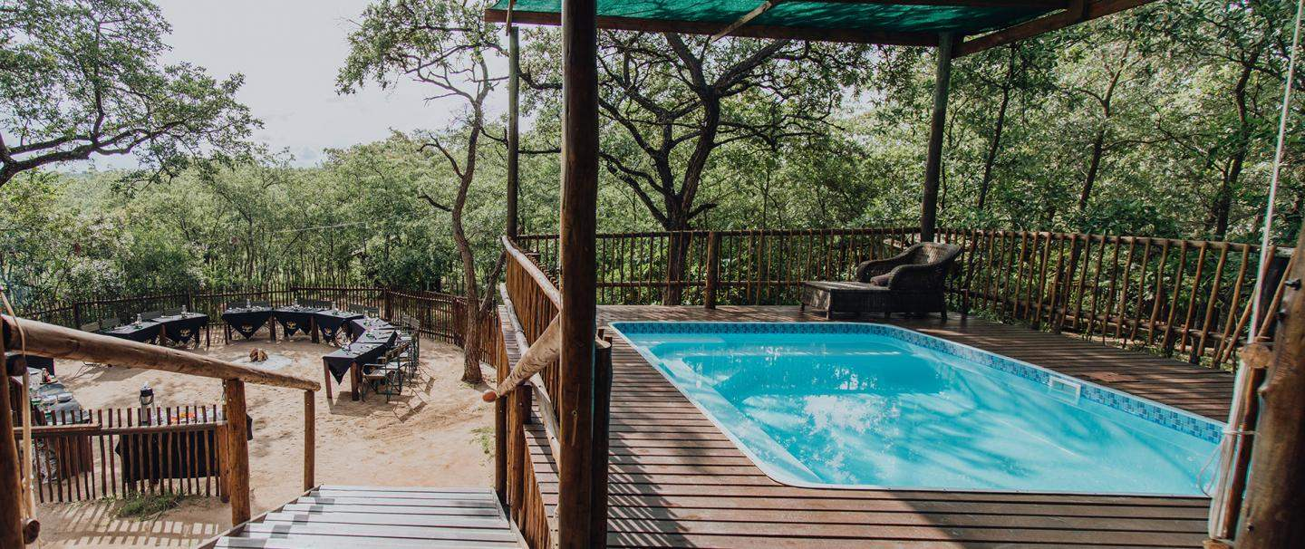 aha Buffalo Rock Safari Camp, Kruger National Park for 2 nights from R3 880* pps - self drive