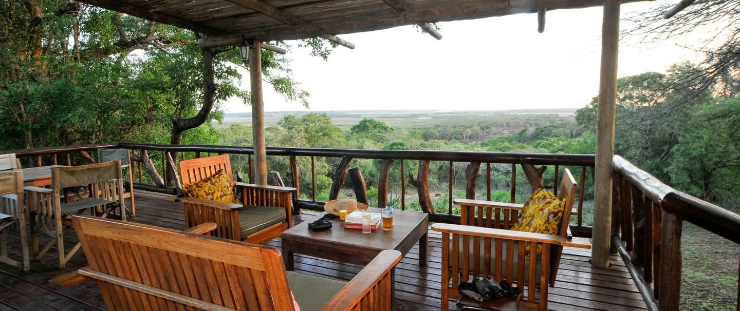 4 Star Hluhluwe River Lodge for 2 nights from R3 400* pps - self drive
