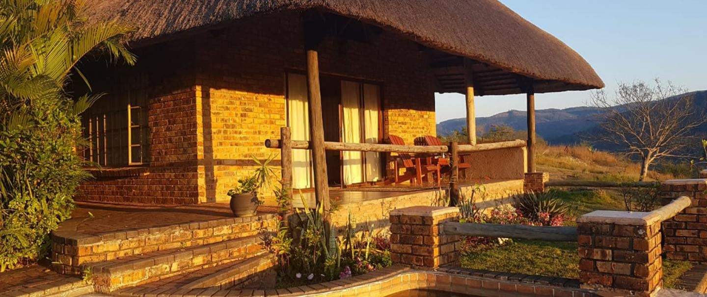 Lions Rock River Lodge, for two nights from R1 500 pps - self drive