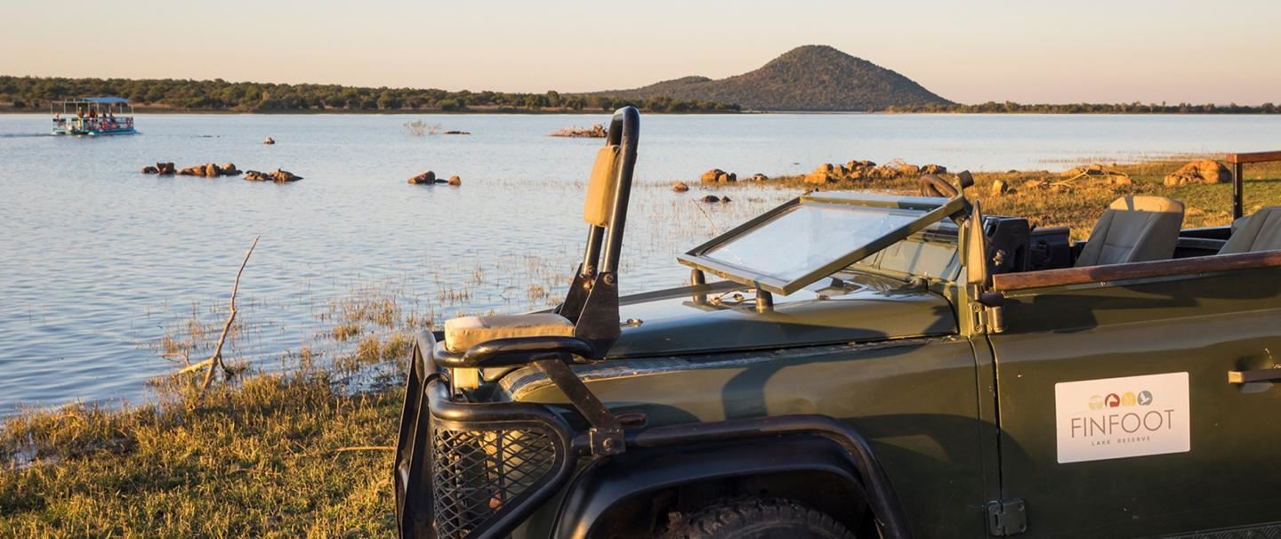 Finfoot Lake Reserve for two nights from R2 390 pps - self drive