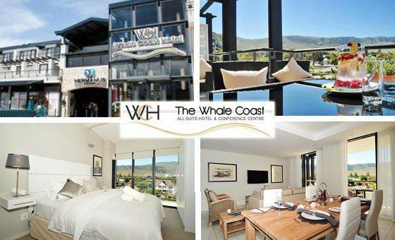4 star Whale Coast Hotel 2 nights From R1 763 pp