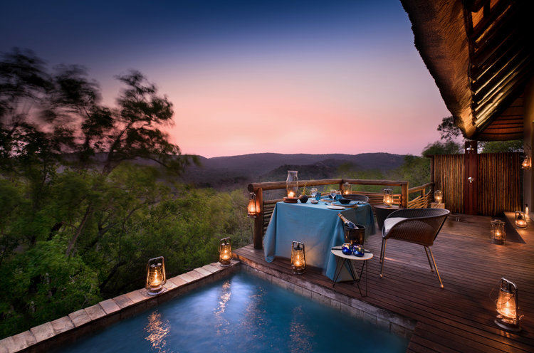 Luxury 5* &Beyond Phinda Mountain Lodge - SA resident special - save R9 040.00 pps
