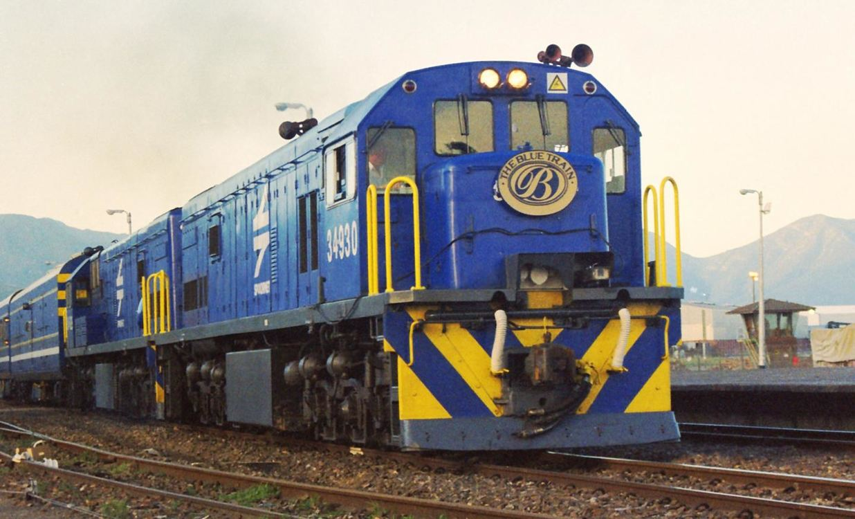 The Blue Train - Pretoria to Cape Town or vice versa for 2 nights from R15 190 pps