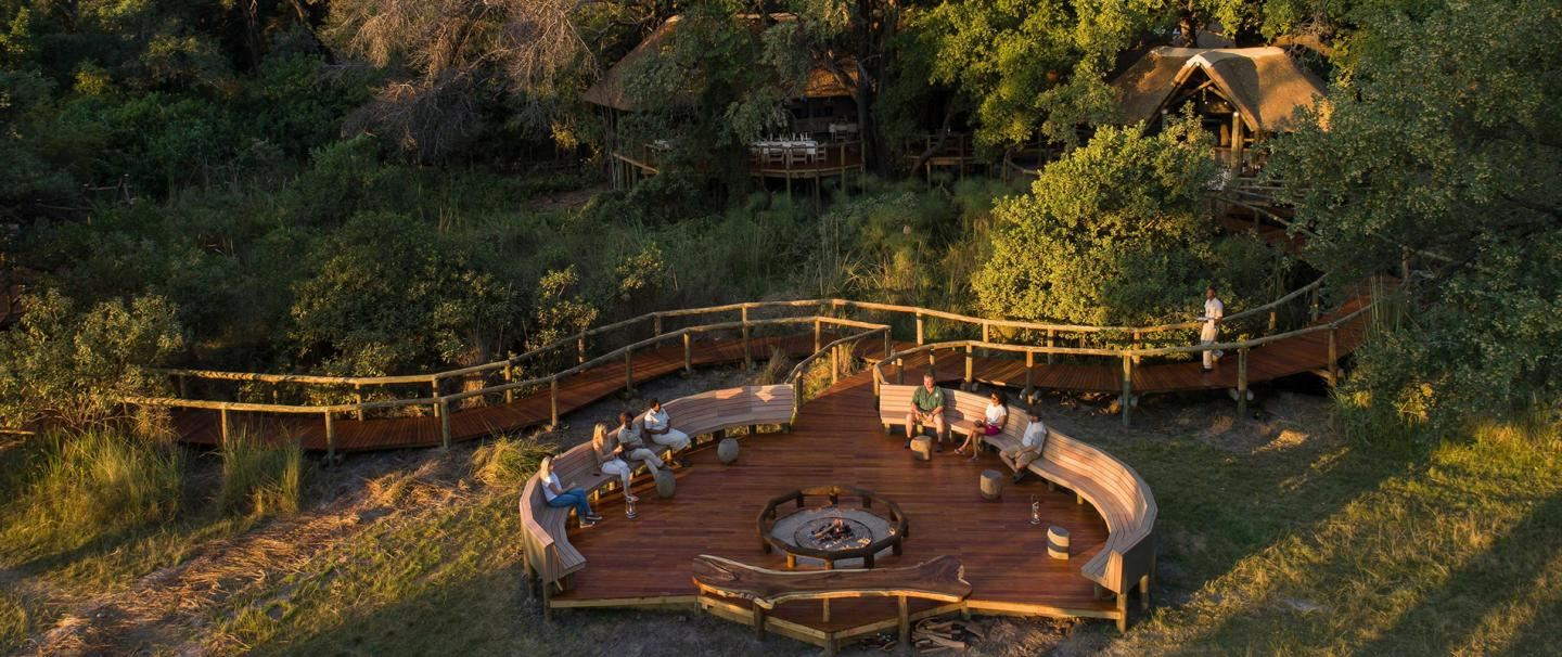 Leroo La Tau and Moremi, for four nights from R15 380 pps - self drive