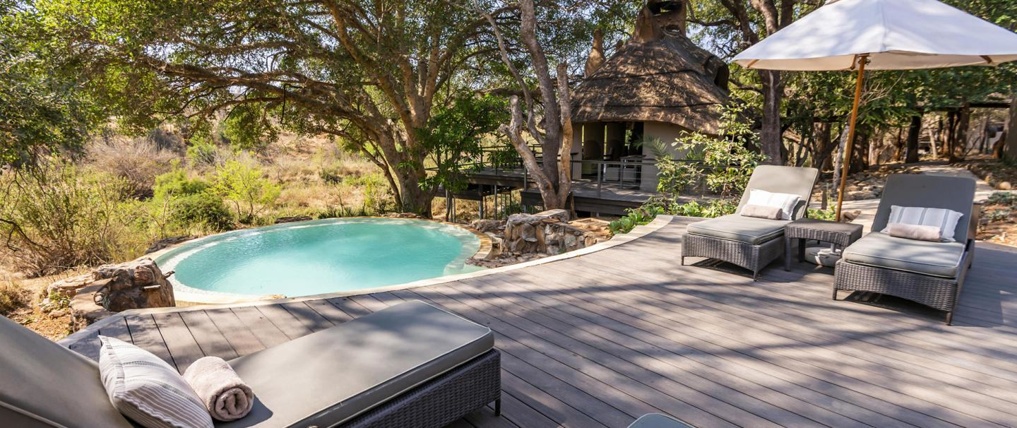 aha Makalali Private Game Lodge, Hoedspruit for two nights from R2 945 pps - self drive
