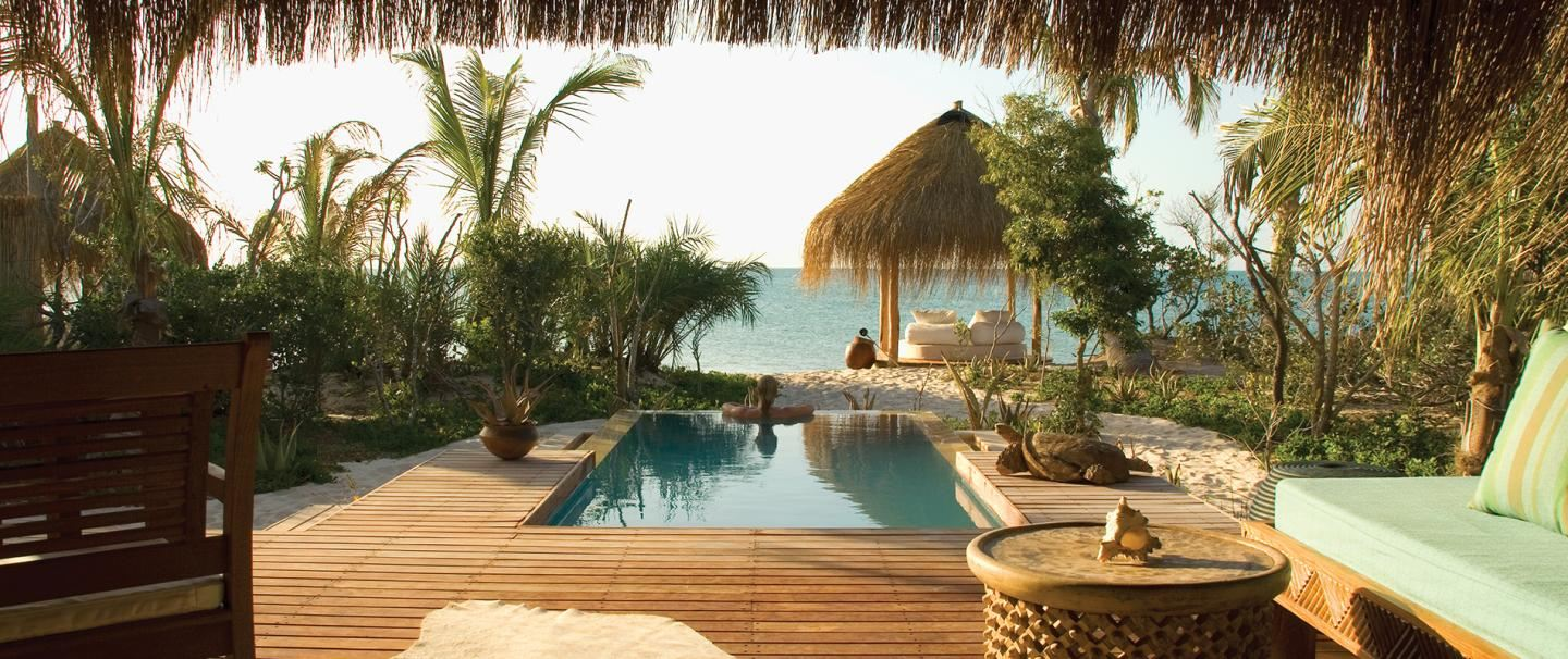 Five star Azura Benguerra Island Mozambique for thee nights from R20 855 pps