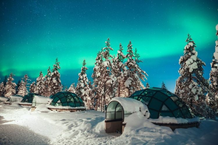 Kakslauttanen Artic Resort, Lapland  - Finland Package (3 Nights)